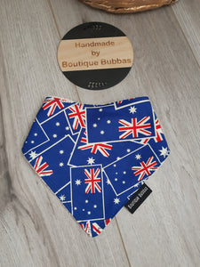 AUSSIE DAY Bandana Dribble Bib