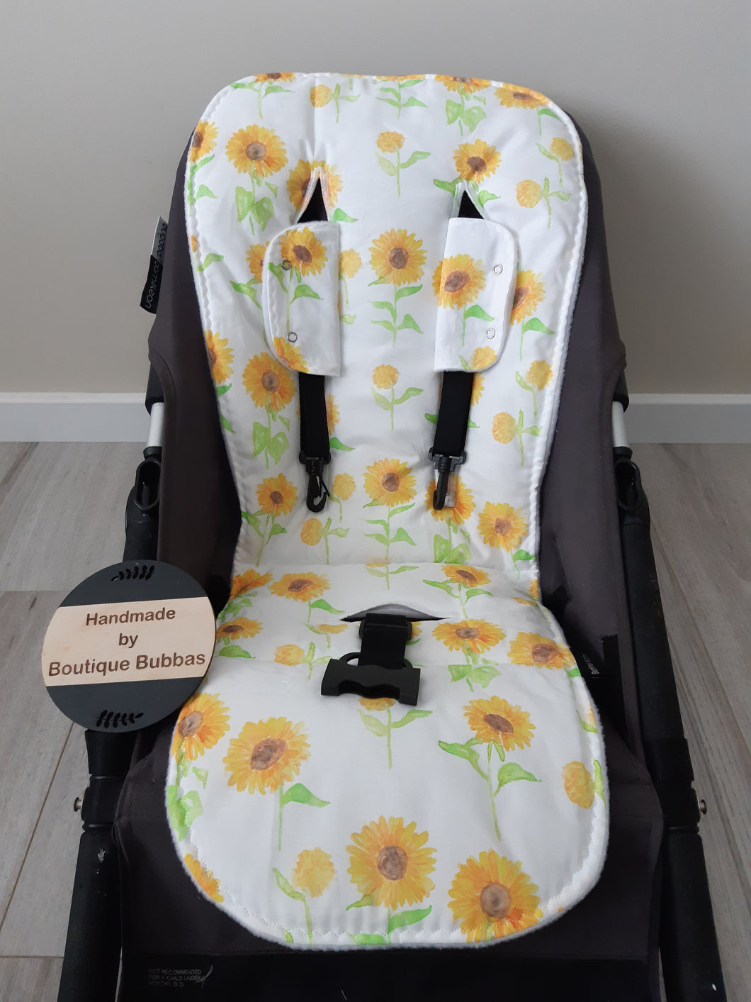 Sunflower bright Universal pramliner set