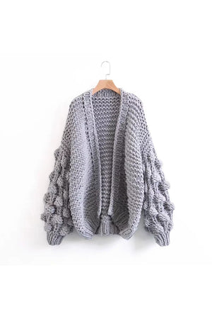Chunky Knit Cardigan - SnugLife | Epic Coziness