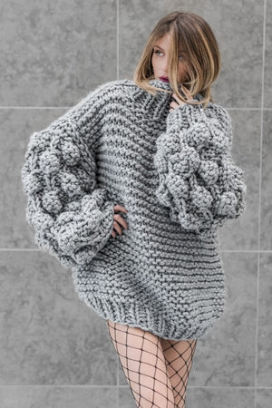 Chunky Knit Turtleneck - SnugLife | Epic Coziness