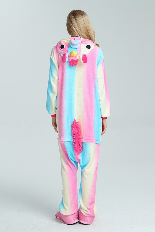Rainbow Unicorn Onesie - SnugLife | Epic Coziness