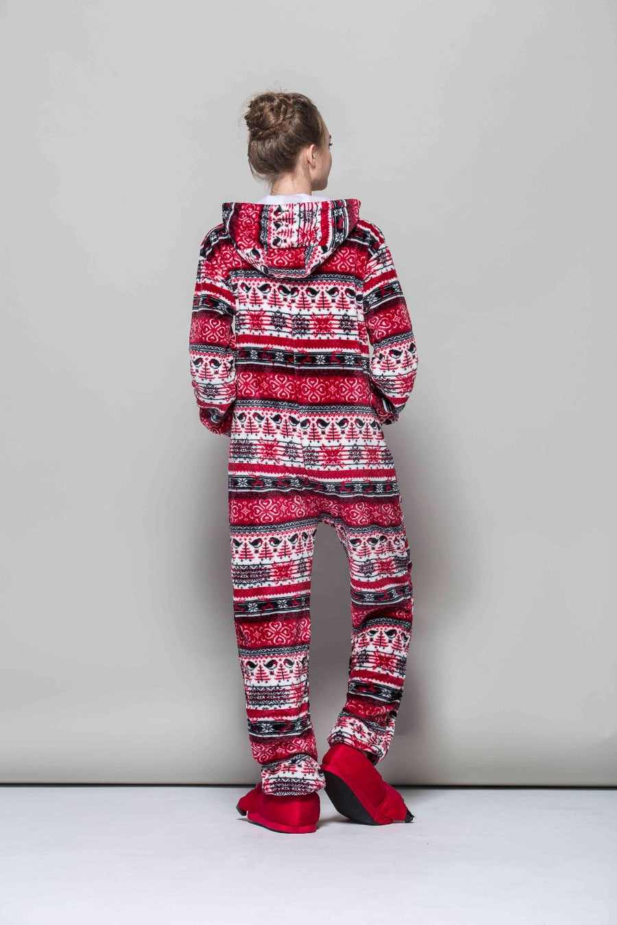 Red Christmas Onesie - SnugLife | Epic Coziness
