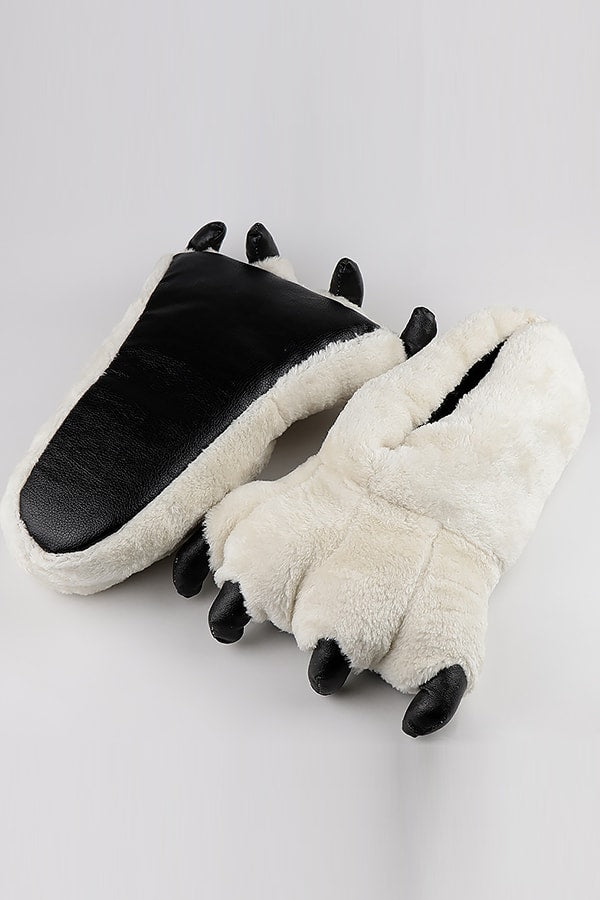 Furry Monster Slippers - SnugLife | Epic Coziness