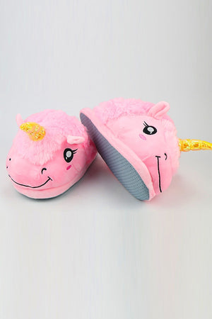 Pink Unicorn Slippers - SnugLife | Epic Coziness
