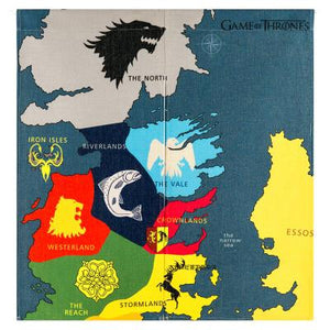 Japanese Style Game Of Thrones Bar Door Curtain