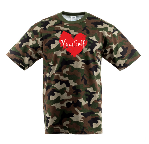 Love Yourself Camo T-Shirt
