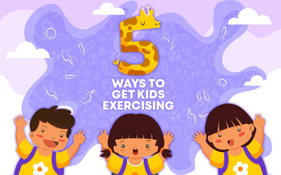 5 Ways To Get Kids Exercising