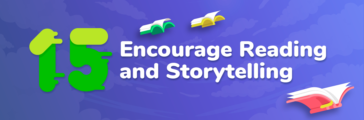 Reading and storytelling for kids how to encourage