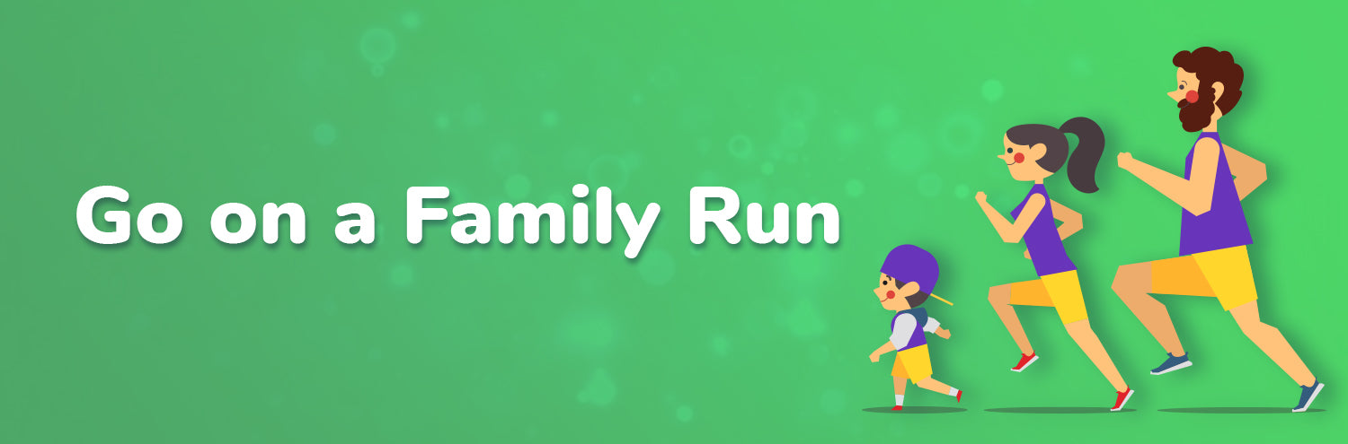 family run with kids great activity