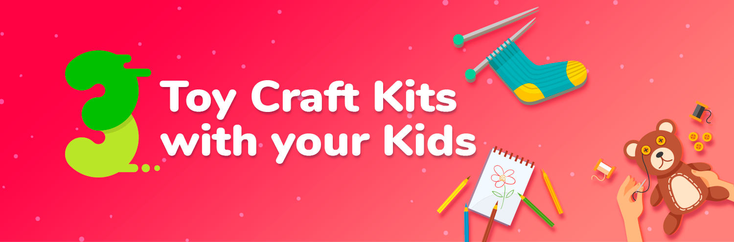 Make toy crafts with kids how to