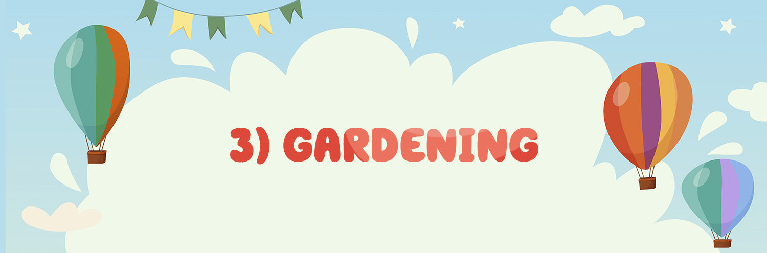 gardening for kids and toddlers