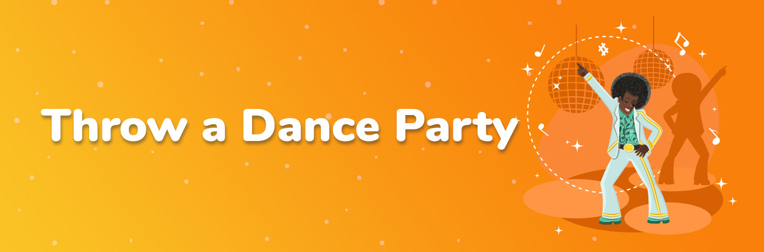 dance party with children fun activity