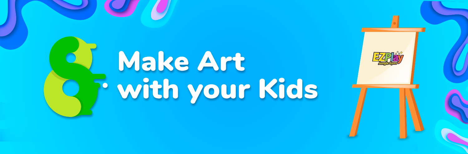 Make art with kids to improve creative thinking