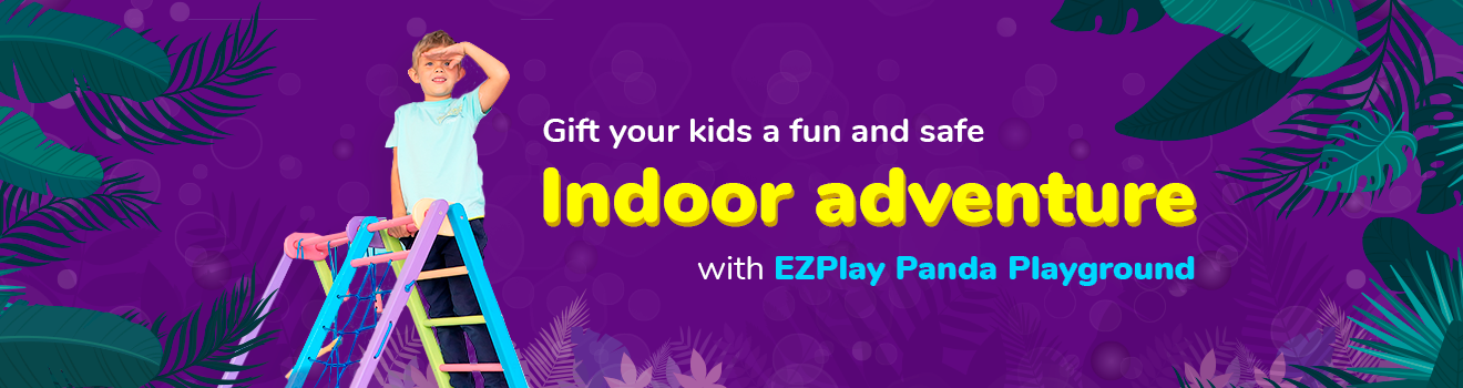 indoor playset gift for kids