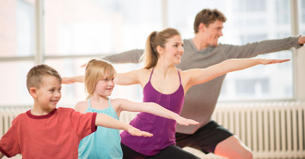 physical exercises for families and kids to be healthy