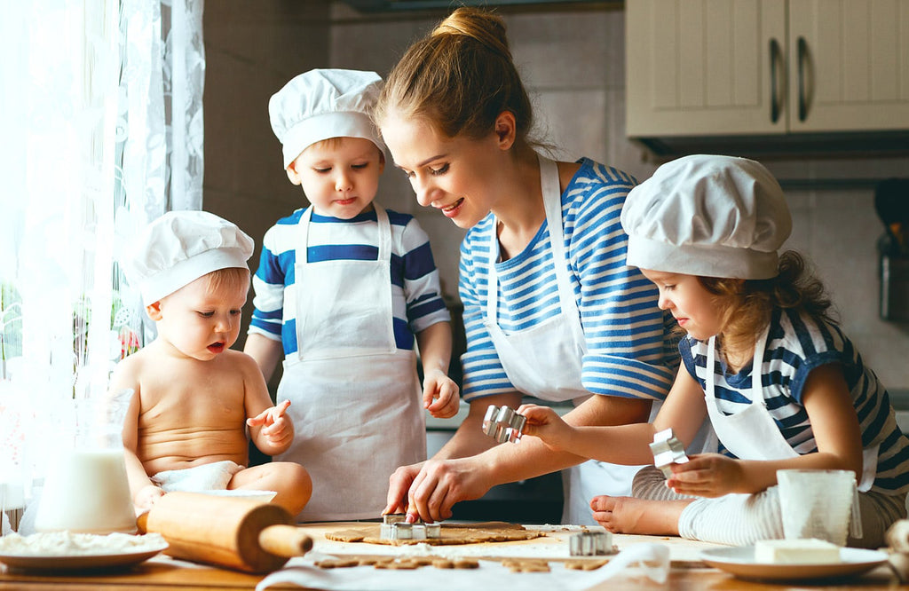 cooking with kids fun activity