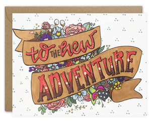 To the New Adventure Card