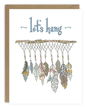 Let's Hang Card