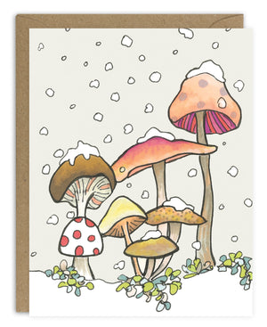 Mushrooms Card