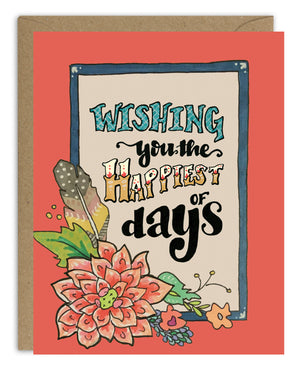 Happiest of Days Happy Birthday Card