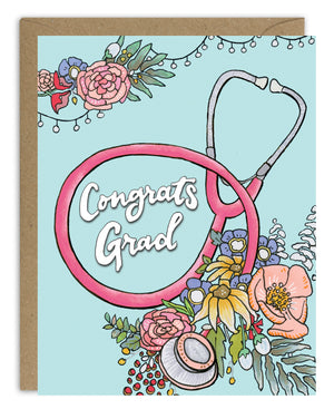 Congrats Health Care Grad Card