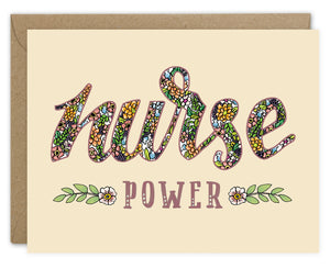 Nurse Power Card