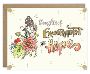 Thoughts of Encouragement & Hope Card