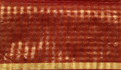 Ornate Maheshwari fabric