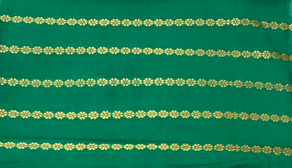 Emerald Rui Phul Cotton fabric