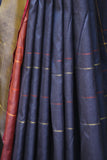 Dark Blue Pure Silk sari