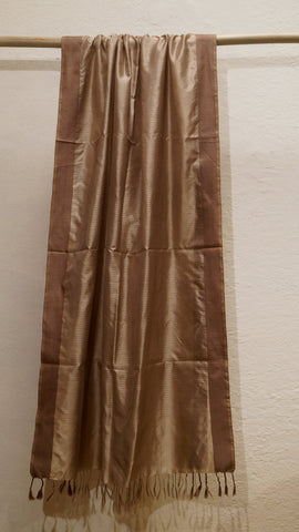 Pure silk metallic dupatta