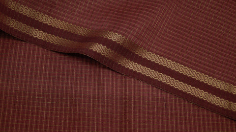 Silk by cotton, soft Maheshwari fabric