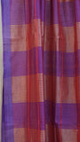 Magenta Silk by Cotton dupatta