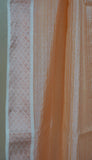 Peach Pure Silk dupatta