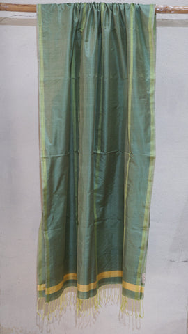 Sage Green Pure Silk dupatta