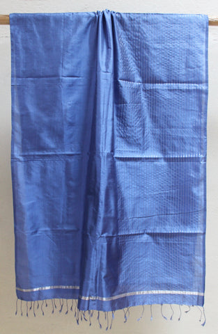 Cornflower Blue Pure Silk scarf