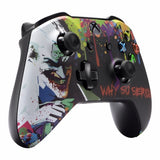 Joker Style Cover Case Faceplate Shell for Xbox One Slim Console