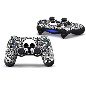 Bomber Skull Playstation PS4 Controller Skin Set