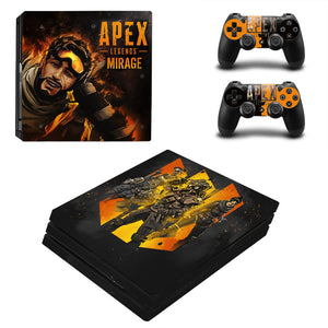 Apex Legend Latest PS4 Pro Sticker Set