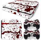 Blood Red Custom PS4 Pro Sticker