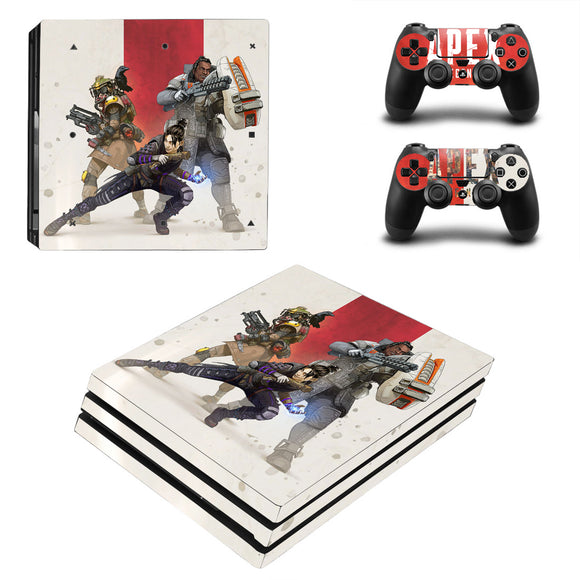 Apex Legend PS4 Pro Sticker Decal Set