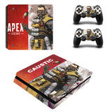 Caustic Apex Legends PS4 Slim Skin Sticker