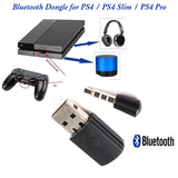 Bluetooth Dongle for Wireless Headphone/Speaker with MIC Adapter For PS4/PS4 Pro/PS4 Slim Console