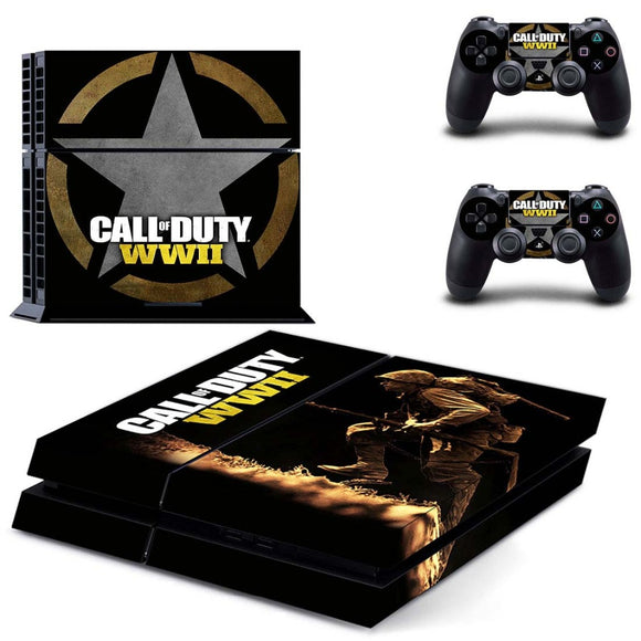 Call of Duty WWII PS4 Skin Sticker