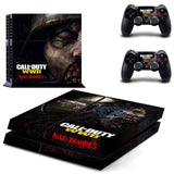 Call of Duty WWII  Zombies PS4 Console Skin Sticker