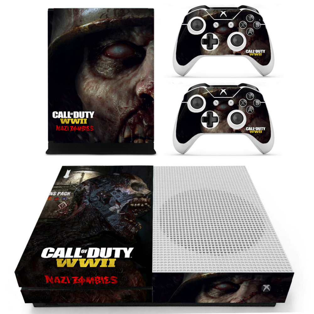 Cod Zombies Wwii Sticker Console Decal Playstation 4 Controller Vinyl 1 Ps4 Skin Video Game Accessories Faceplates, Decals & Stickers