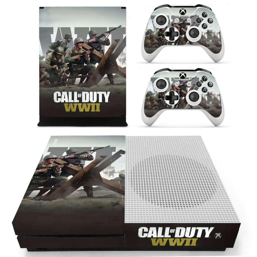Faceplates, Decals & Stickers Cod Zombies Wwii Sticker Console Decal Playstation 4 Controller Vinyl 1 Ps4 Skin Video Game Accessories