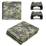 Camouflage Protective Skin Sticker Decal For Playstation 4 Pro