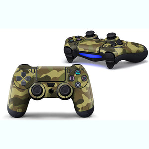 Camouflage PS4 Controller Skin Sticker