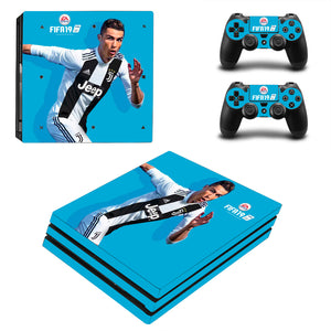 FIFA 19 Christiano Ronaldo PS4 Pro Console Stickers
